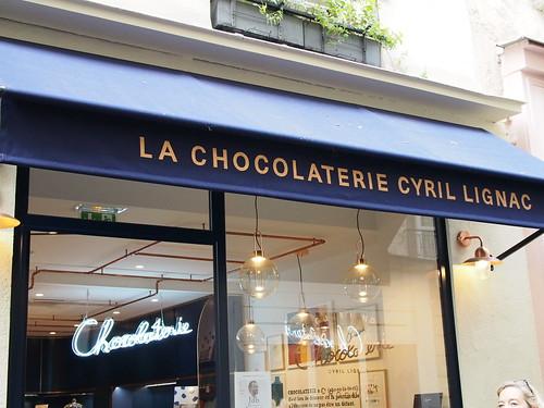 Chocolaterie Cyril Lignac (1) パリ・ブレスト