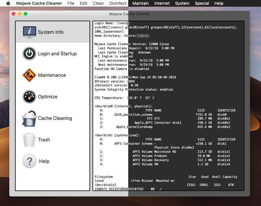 Mojave Cache Cleaner 12 0 6 – Clear caches, access hidden OS X
