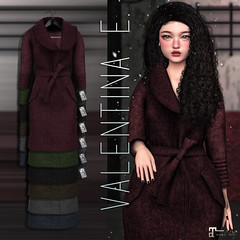 NEW!  Valentina E. Teddy Coat @ Equal10!