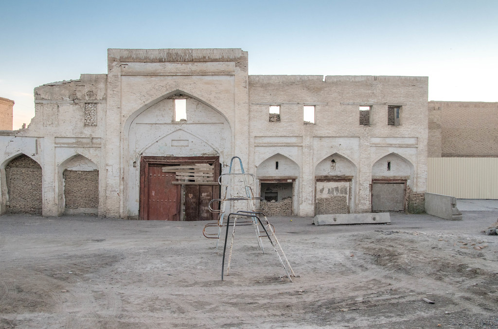 one morning in Bukhara