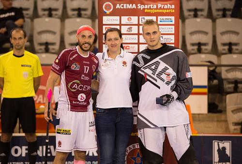 ACEMA Sparta Praha vs Sokol Pardubice