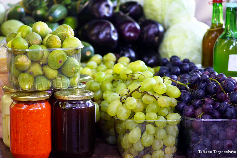 Домашние заготовки, овощи и фрукты