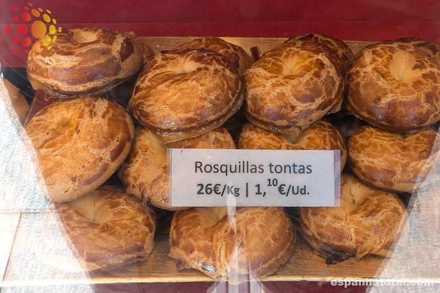 doces típicos de Madri: rosquillas