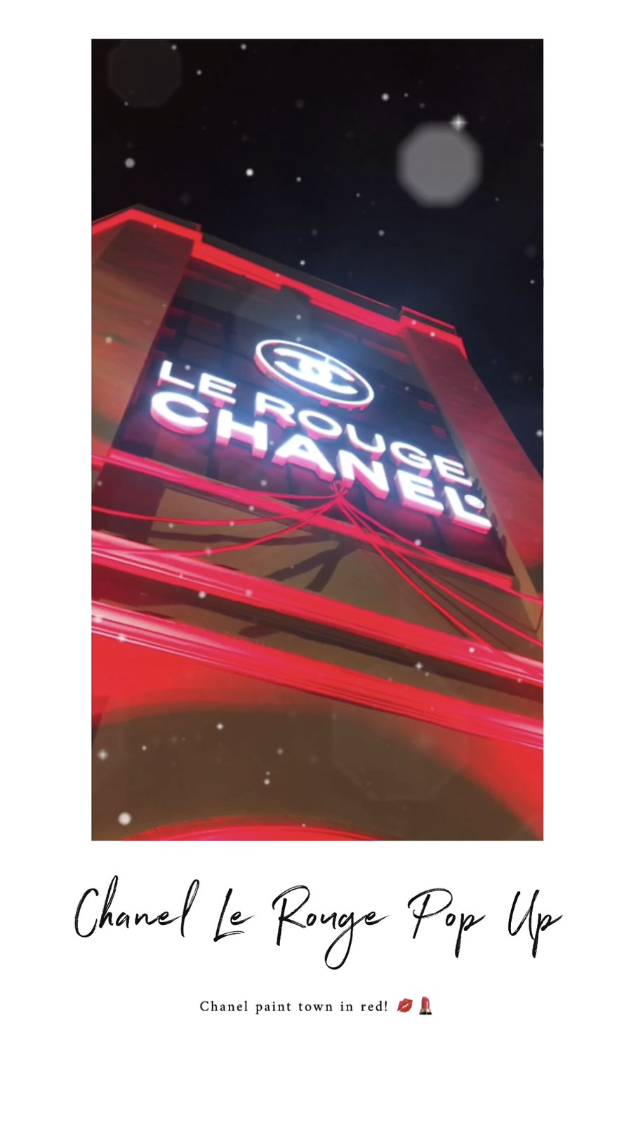 [Beauty] Chanel Le Rouge Pop Up at 72-13 Mohamed Sultan Road, Singapore