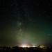 The Milky Way at Sennen Cove Cornwall