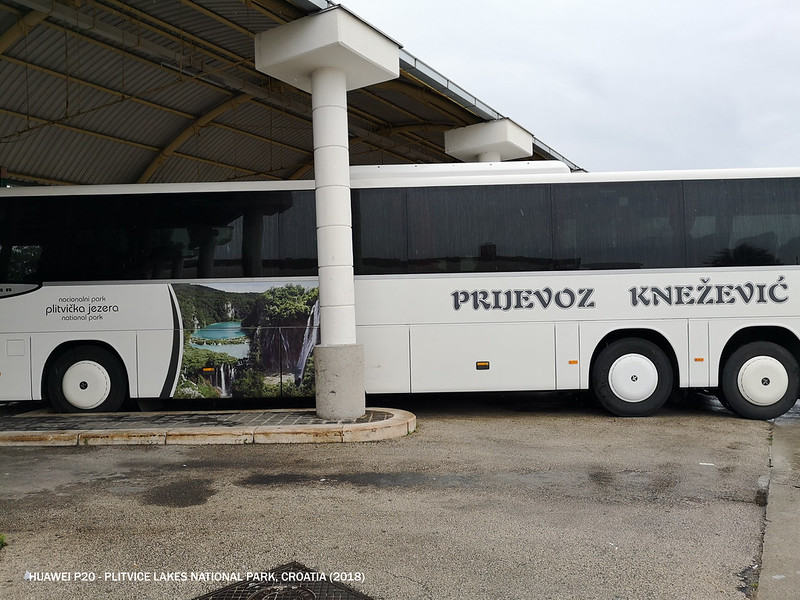 2018 Croatia Zadar to Plitvice Lakes Bus