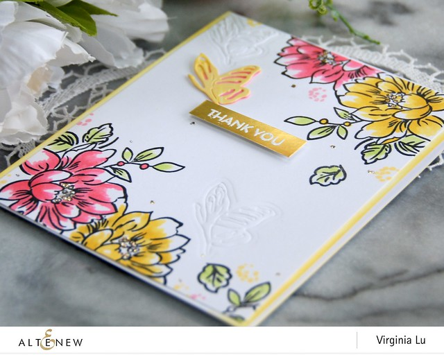 Altenew-SunlitFlowerCardKit-Virginia#2