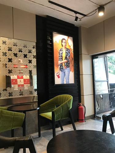 Inside Cafe Coffee Day