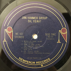 JAN HAMMER GROUP:OH YEAH?(LABEL SIDE-A)