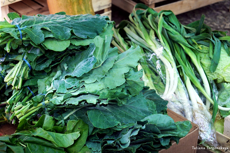 Зелень на требинском рынке