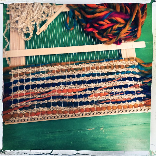 Loom Weaving #2 WIP