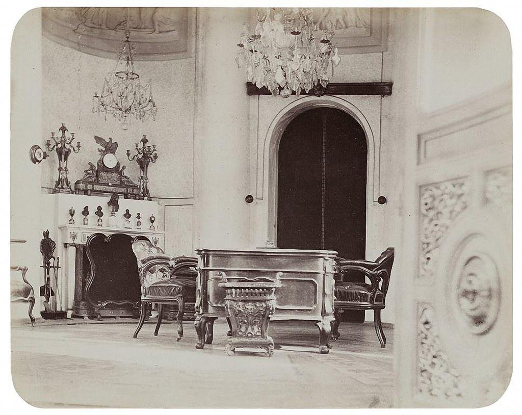 Останкинский дворец. Ротонда (кабинет императора). 1868-1870