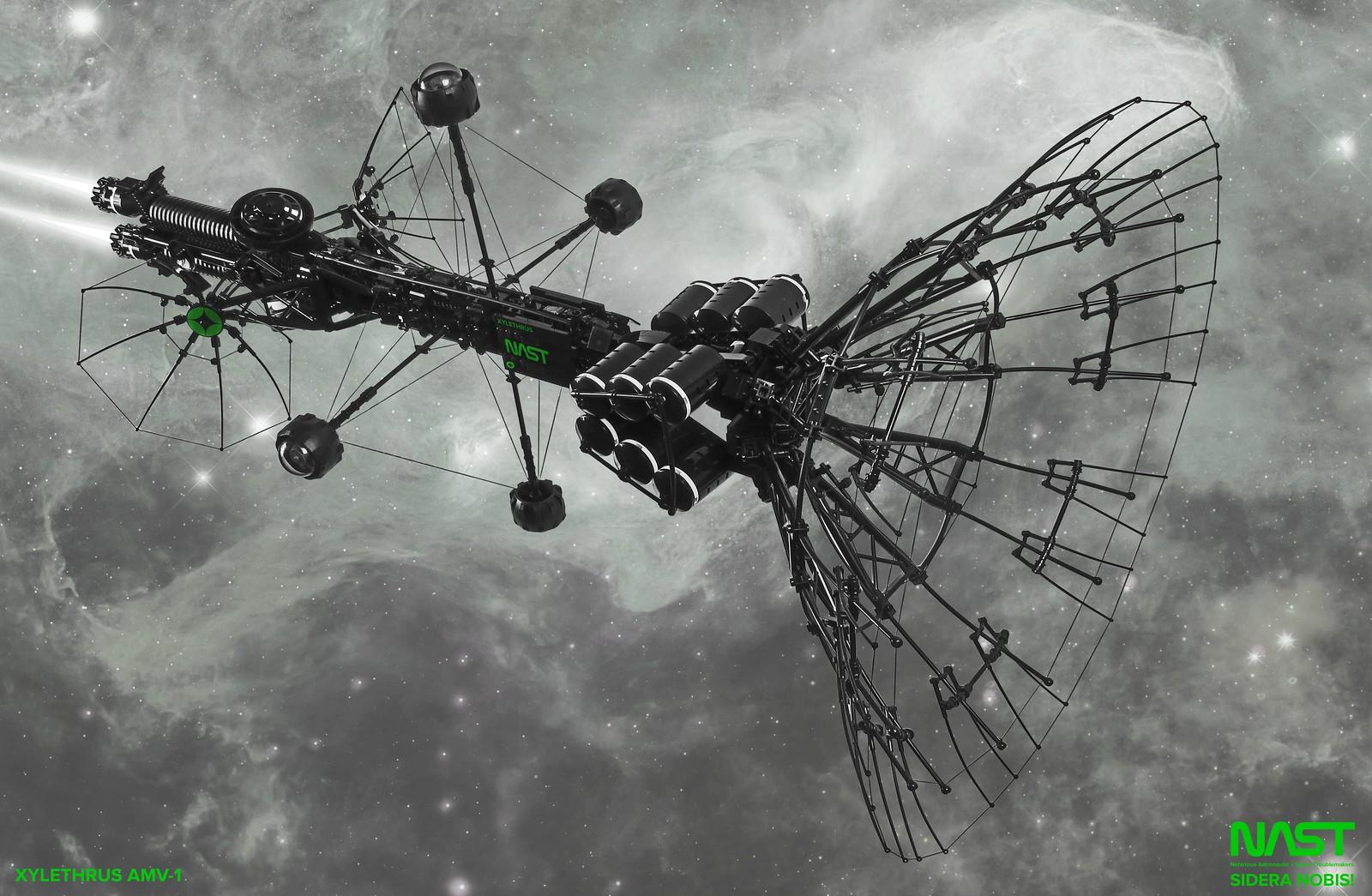космічний корабель лєго