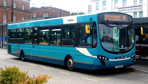 FL63 DYA 'ARRIVA Midlands' No. 3792. VDL SB200 / Wright Pulsar 2 on Dennis Basford's railsroadsrunways.blogspot.co.uk'