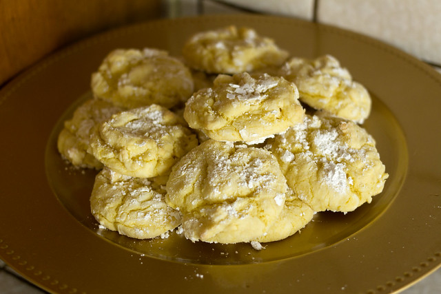 Lemon Cookies from Cake Mix