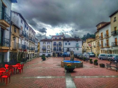 Cañete. Cuenca. Plaza Mayor.