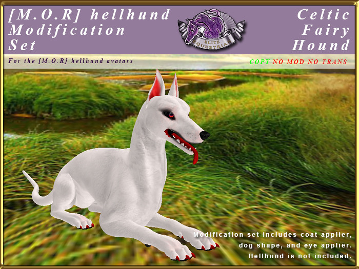 E-MORHellHund-ModificationSet-Celtic Fairy Hound