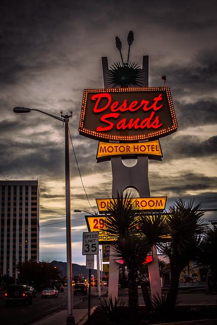 Mornings at the Desert Sands