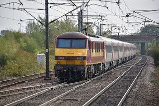 90039 pushes 1B85 away from Newark Northgate