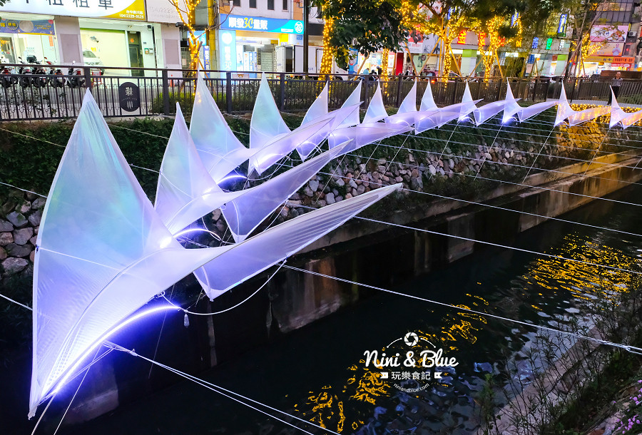 柳川水岸 2018 新盛綠川 燈節 IG打卡08