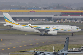 UP-A3001, Airbus A330-243 Government of Kzakhstan @ Brussels BRU EBBR