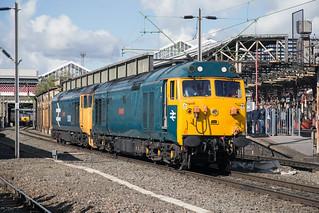 Class 50 Alliance 50007 + 50049 Crewe