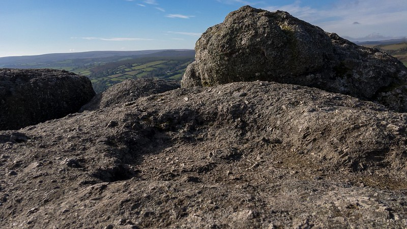 Bell Tor rock basin