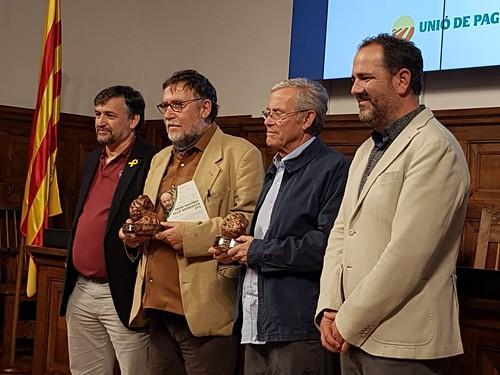 Martí Boada, Premi Nacional Felip Domènech i Costafreda