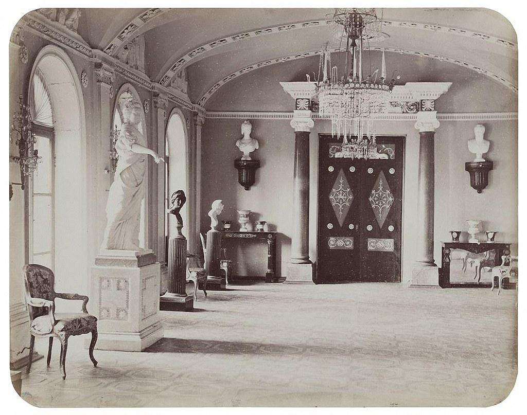Останкинский дворец. Проходная к Египетскому павильону. 1868-1870