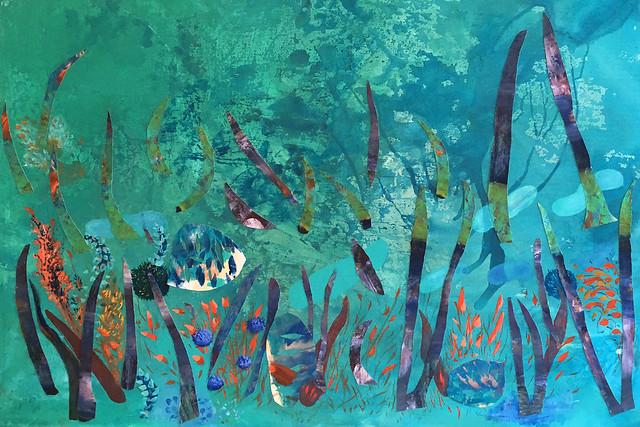 Exposição Pintura aos peixes - ARTRIO 2018