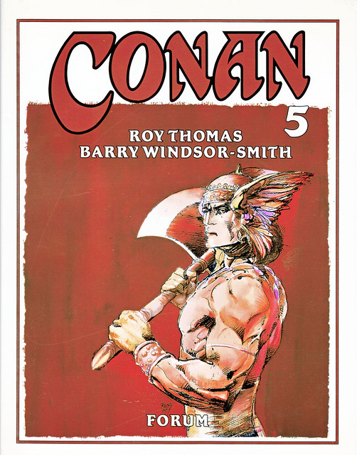 Conan de Roy Thomas y Barry Windsor Smith 05 -01- Portada