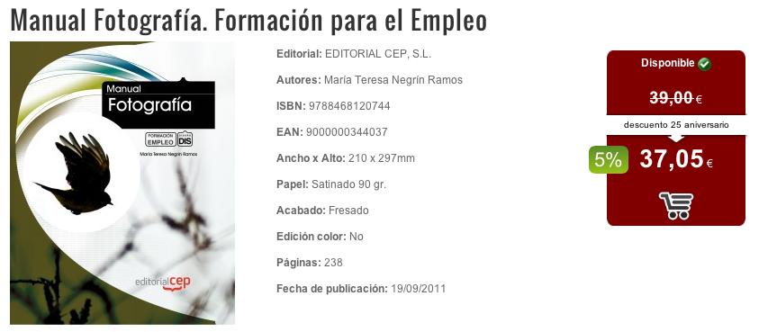 LIBRO Manual Fotografia