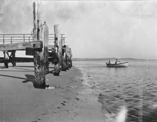 Jetty at South Passage, Moreton Island, 1913