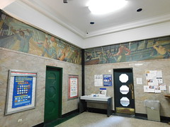 New London, Connecticut Post Office Murals