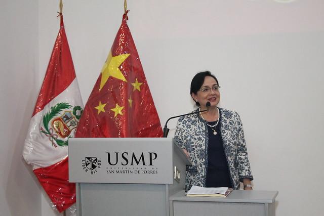 Facultad de Ciencias Administrativas y Recursos Humanos realizó la graduación del II Programa de Chino Mandarín