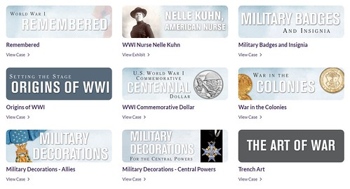 WWI Remembered ANA Museum virtual exhibit
