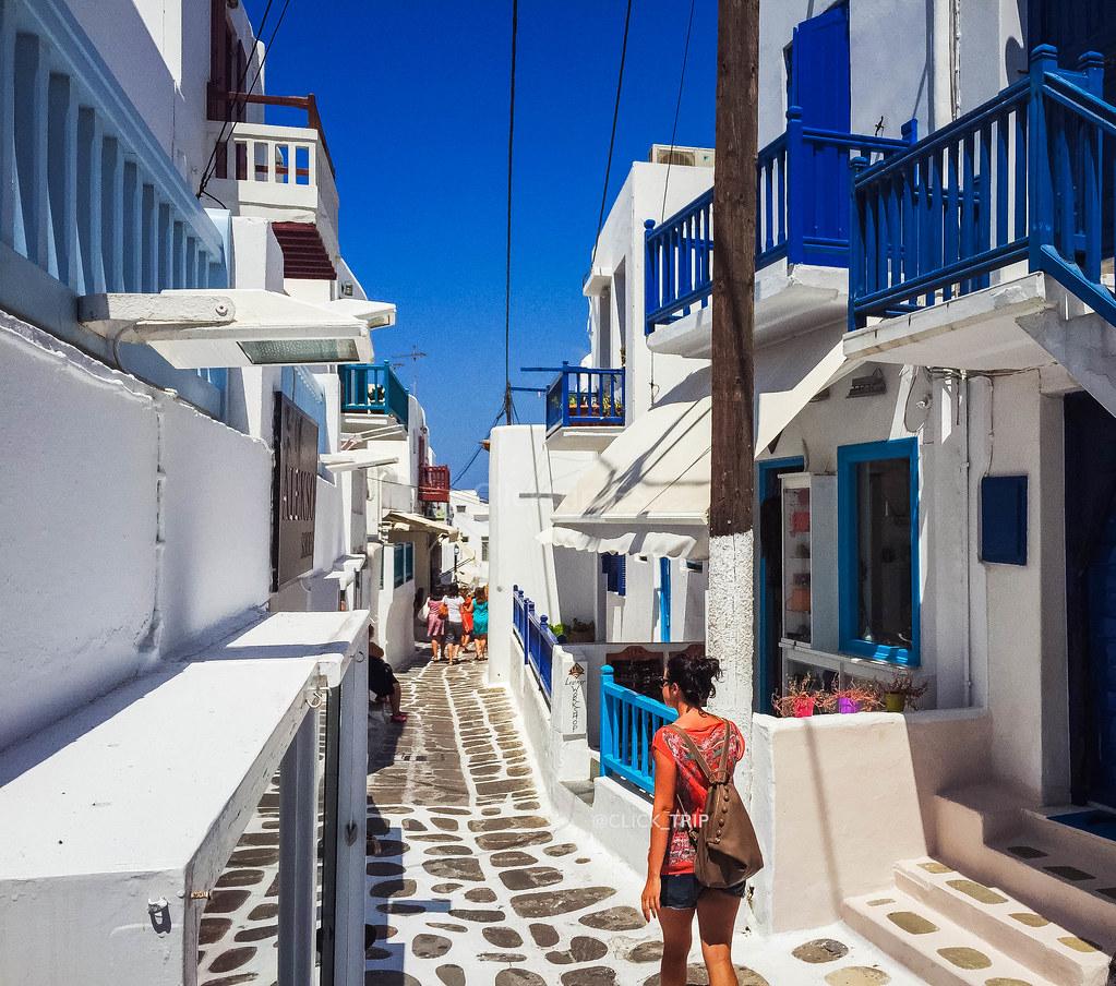 Qué ver en Mykonos | Chora | Islas Griegas | ClickTrip.ES
