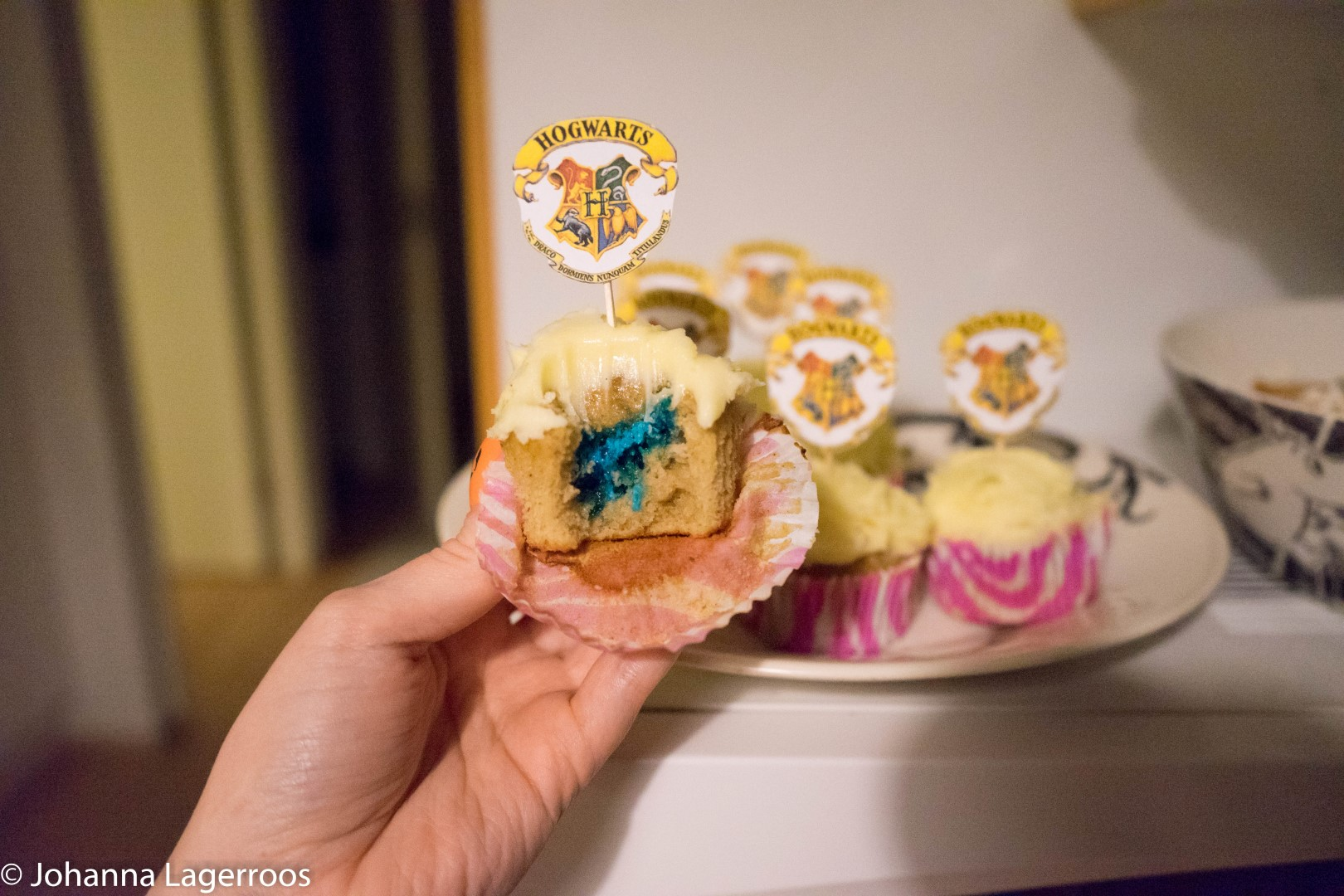 Ravenclaw cupcake