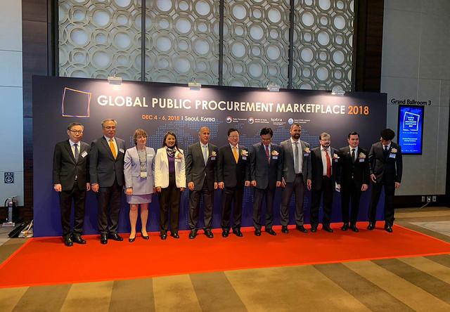 Encuentro para el Mercado global de contratación pública en Corea del Sur-Sercop