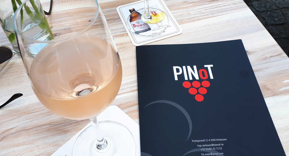Leuk café in Antwerpen, Wijnbar Pinot Antwerpen | Mooistestedentrips.nl