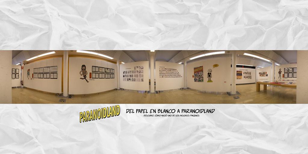 Exposición: Del papel en blanco a Paranoidland - Interior
