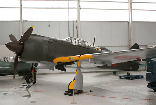Kawasaki Ki-100 at the RAF Museum Cosford