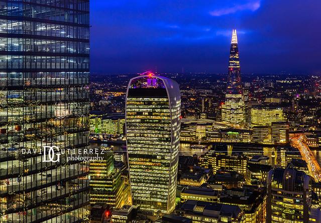 Skyline - Vertigo 42, London, UK