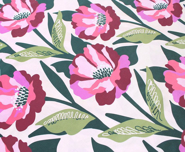 Nerida Hansen Fabrics - Carina Blush by Rachelle Holowko