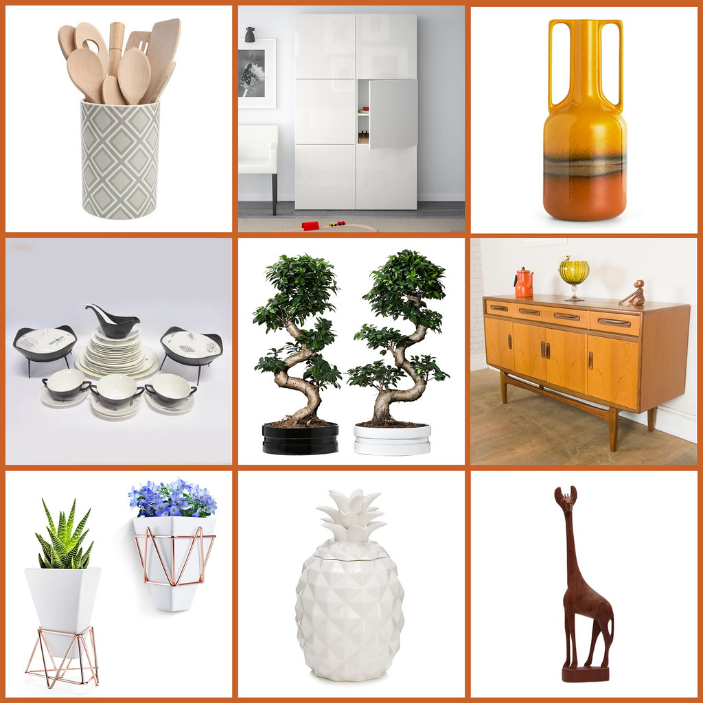 All the Mid-Century Modern Homewares We've Bought For Our New House: Kitchen/Dining Room | Not Dressed As Lamb