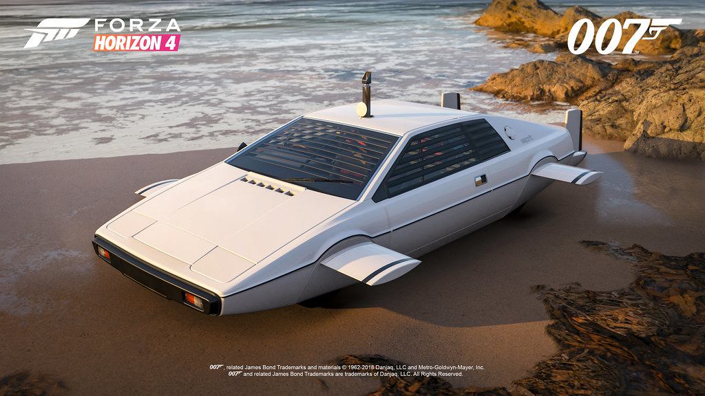 FH4 Best of Bond Lotus Esprit S1 Beached