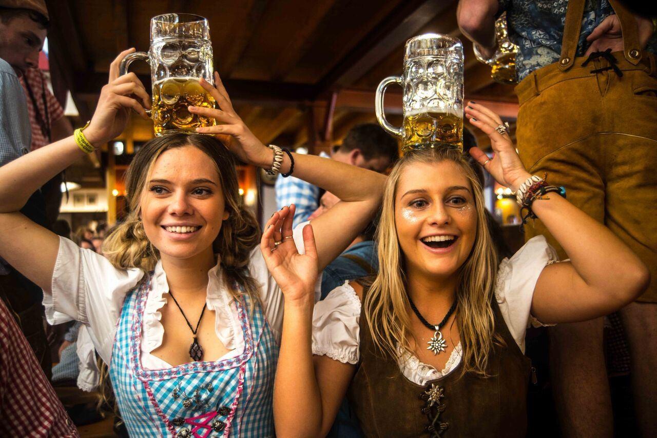 На «Октоберфесте» выпили 7,5 миллиона литров пива