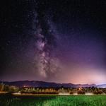Milky Way near Castle Wernberg