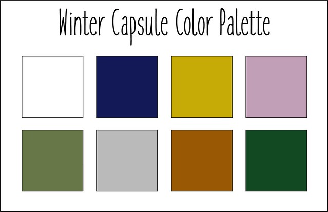 Winter Capsule Palette 2018