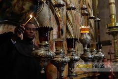 Vigilia Pascual en Jerusalem